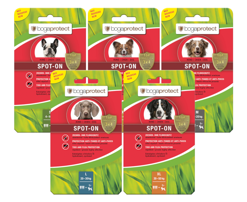 bogaprotect® ANTI PARASIT CHIEN Naturel