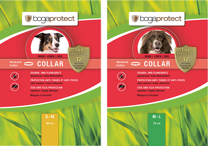 bogaprotect® COLLIER ANTI PARASIT CHIEN Naturel